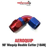 [AEROQUIP] 에어로큅 쿨러피팅 90도 모큅 더블 커터 (10AN)