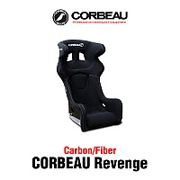 [CORBEAU] 코뷰 리벤지 시트 카본 파이버/튜닝시트/버킷(버켓)시트/FIA 인증